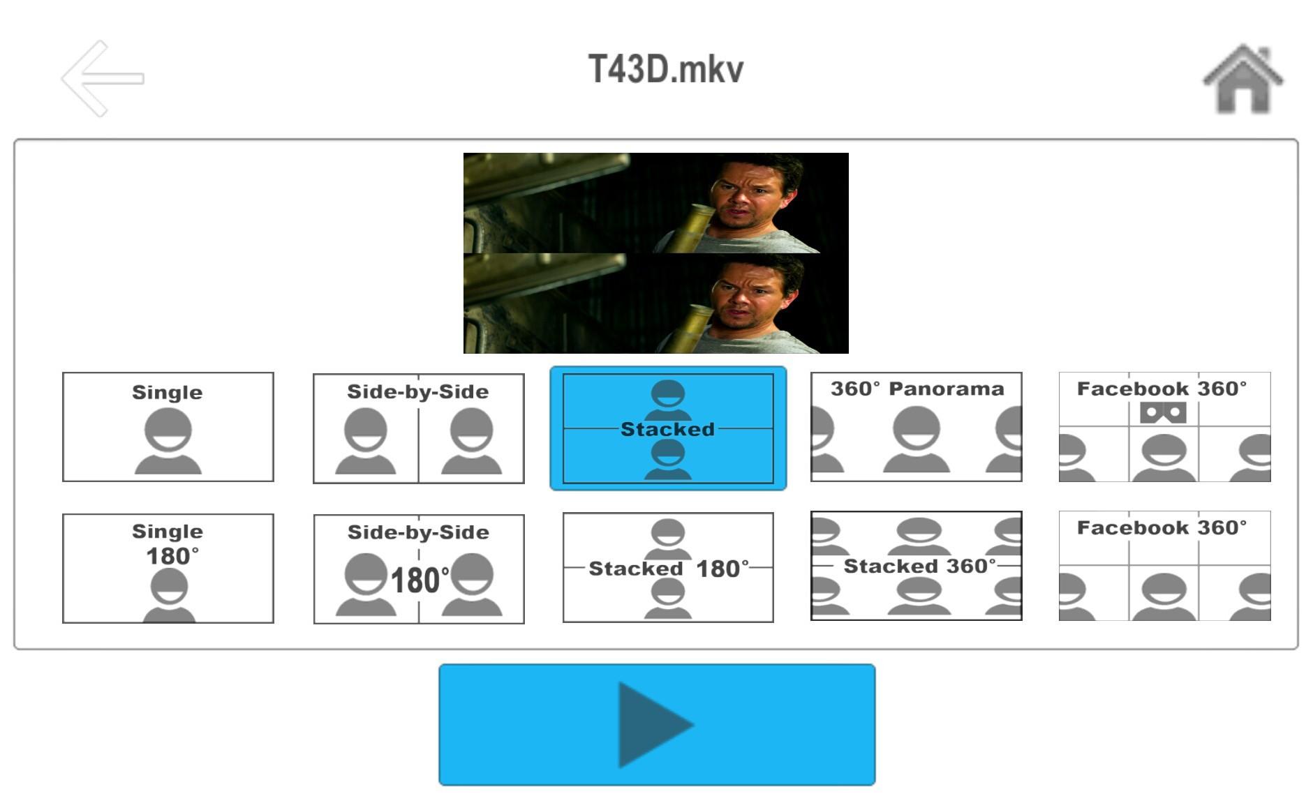 Как смотреть 3D фильмы на Android в очках виртуальной реальности VR