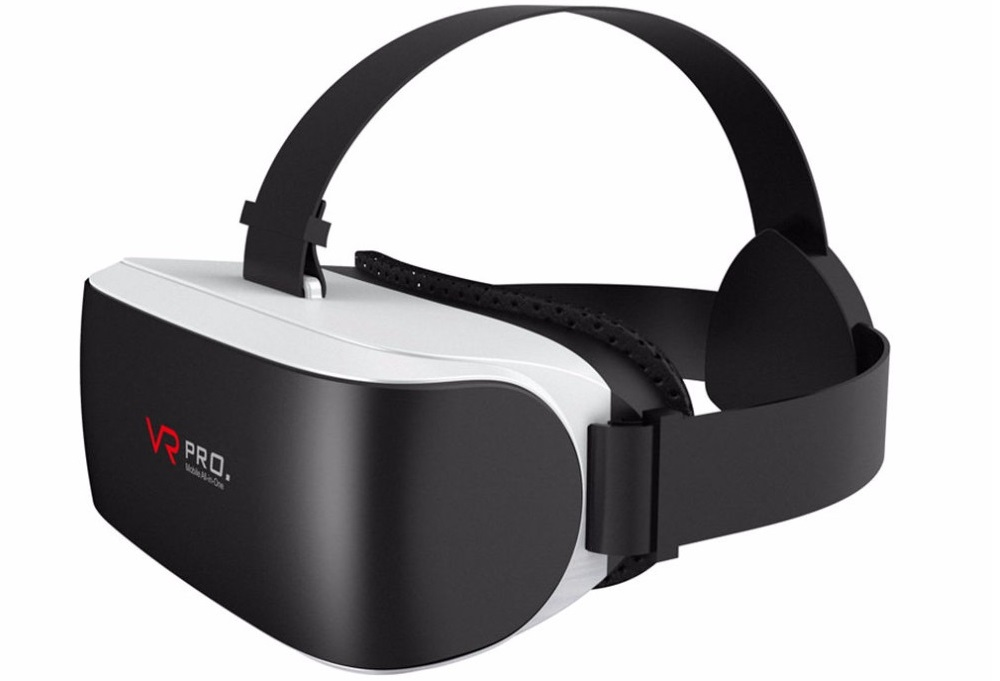 Разновидность очков виртуальной реальности вращение винтов в квадрокоптере